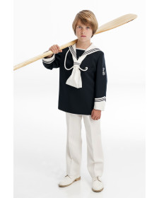 NAVY BOY FIRST COMMUNION