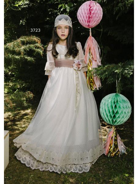 Vestido comunion de tul