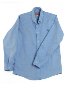 BOYS BLUE SHIRT VARONES