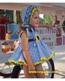GIRL DRESS LIMONCHELO