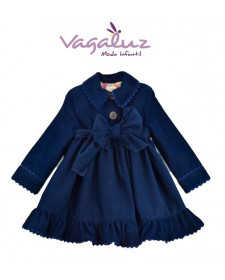 GIRL SPRING BLUE COAT
