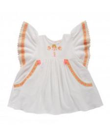 DRESS HINDAKA WHITE LOUISE MISHA
