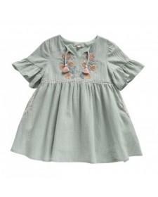 DRESS SAKINA ALMOND LOUISE MISHA