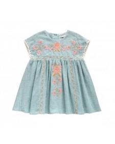 DRESS OLESTE BLUE LOUISE MISHA