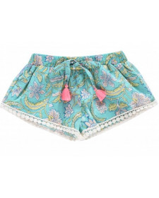 SHORTS NUTSY BLOOM FLOWER LOUISE MISHA