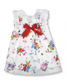 GIRL FLOWER DRESS FOQUE