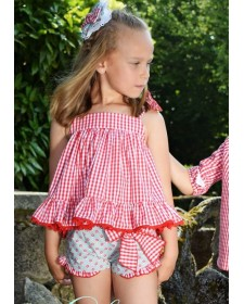 GIRL SHORT AND BLOUSE SIROPE