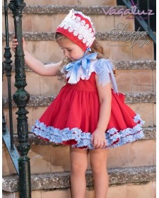 BABY GIRLS DRESS AND KNICKERS SANCHEZ DE LA VEGA