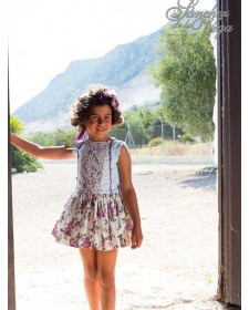 GIRLS DRESS CAPRI SANCHEZ DE LA VEGA