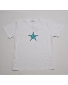 BOYS BLUE STAR T-SHIRT LUCA BYNN