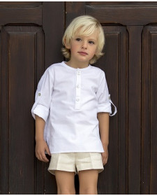 CAMISA Y SHORT NIÑO KID´S CHOCOLATE SETA