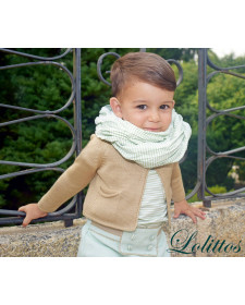 BABY BOYS SWEATER MENTA LOLITTOS
