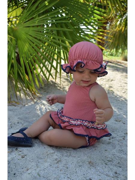 BABY GIRLS SWIM BLOOMERS AND T-SHIRT LOLITTOS