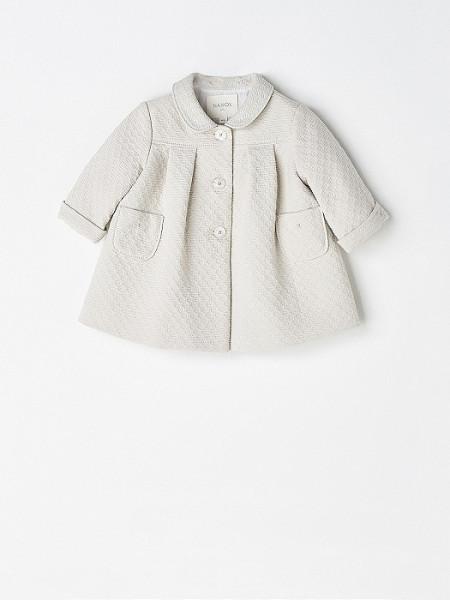 Baby Girl Beige Coat