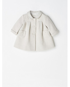 BABY GIRL BEIGE COAT