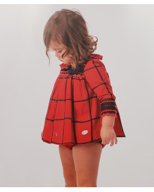 BABY GIRLS QUECK DRESS AND KNICKERS JOSE VARON