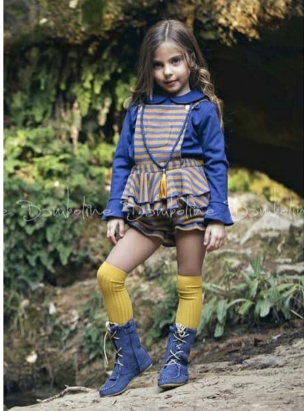 GIRL JUMPSUIT AND SUETER BAMBOLINE