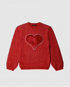 GIRL RED SWEATER GUESS