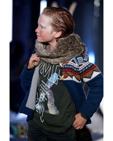 BOY KNITWEAR JACKET BOBOLI