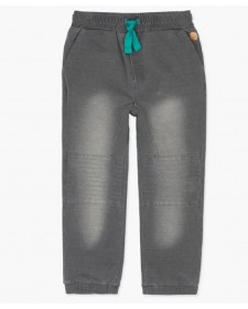 BOY FLEECE DENIM TROUSERS BOBOLI