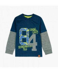 BOY KNIT T-SHIRT BOBOLI