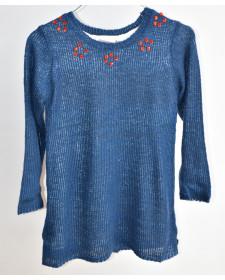 GIRL KNITWEAR COMBINED DRESS BOBOLI