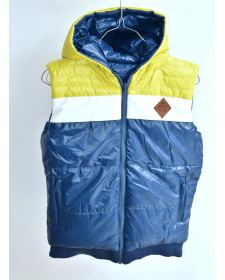 BOY REVERSIBLE TECHNICAL FABRIC VEST BOBOLI