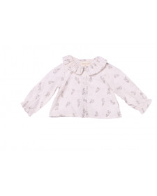 BABY GIRL RABBIT BLOUSE PLUMETI RAIN