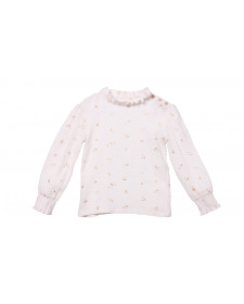 GIRL FOREST IVORY BLOUSE PLUMETI RAIN