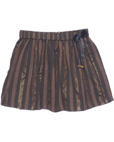 GIRL GOLD STRIPES SKIRT PLUMETI RAIN