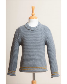 GIRL GREY SWEATER MIA Y LIA