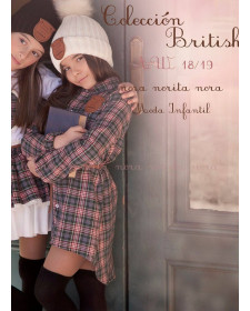 GIRL DRESS NORA NORITA NORA BRITISH
