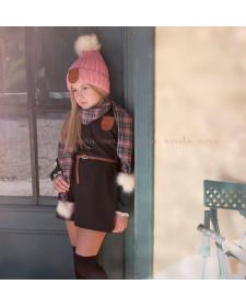 GIRL BLACK DRESS BRITISH NORA NORITA NORA