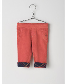 BABY BOY ORANGE TROUSERS NANOS