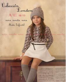GIRL BLOUSE & SKIRT NORA NORITA NORA LONDON