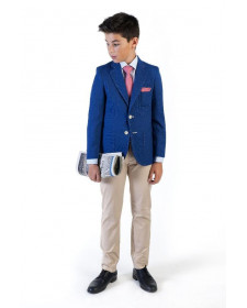 BOYS BEIGE TROUSERS JOSE VARON