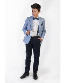 BOYS NAVY TROUSERS JOSE VARON