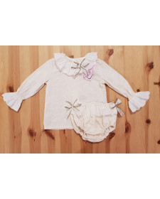 BABY BOYS BLOOMERS AND BLOUSE LOLITTOS ABUELITO