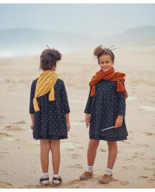 GIRL BLACK & STARS DRESS MIA Y LIA