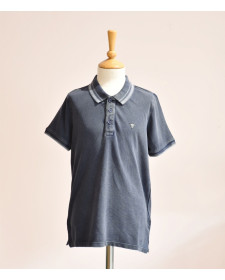 BOY BLUE DENIM POLO GUESS