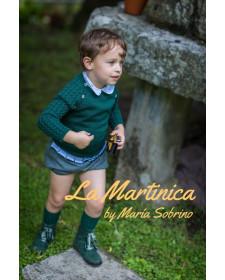 BERMUDA Y CAMISA DE NIÑO LA MARTINICA NENUFAR