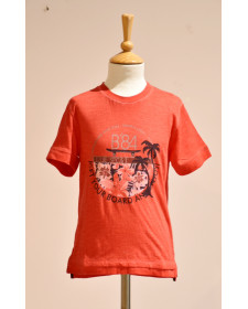 BOY RED T-SHIRT BOBOLI