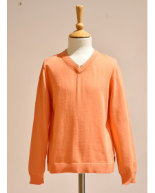 BOY ORANGE SWEATER BOBOLI