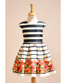 GIRL FLOWERS DRESS ABEL AND LULA