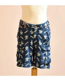 BOY NAVY SHORTS BOBOLI