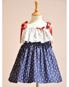 GIRL DRESS NAUTIC