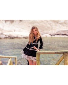 GIRLS BLACK DRESS BELLA BIMBA