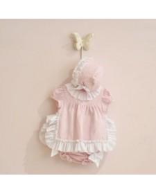BABY GIRL PINK DRESS JOSE VARON