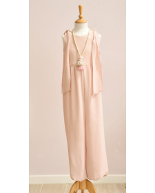 GIRL PINK JUMPSUIT