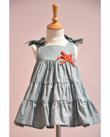 GIRL DRESS CARMESI NOMA FERNANDEZ